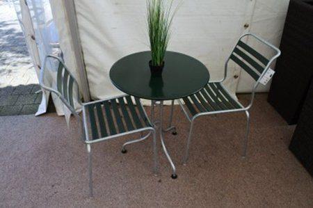Tischset Schaffner Säntis mit Stuhl Säntis - BEGA Gartenmöbel-Center ...